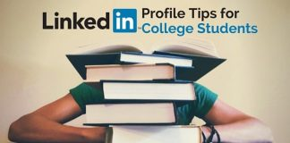 linkedin profile tips college students