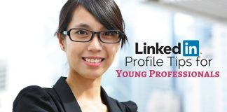 linkedin tips young professionals