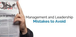 management leadership mistakes to avoid