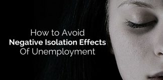 negative isolation effects unemployment