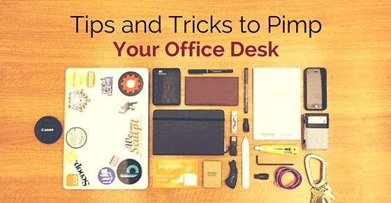 pimp your office desk