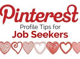 pinterest tips job seekers
