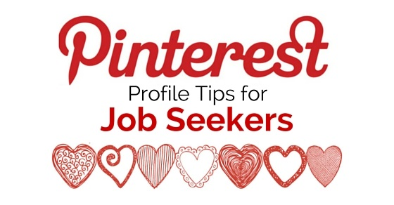 pinterest tips job seekers