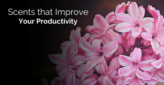 scents that improve productivity