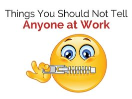 things not tell work