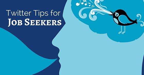 twitter tips job seekers