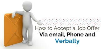 accept job offer via email