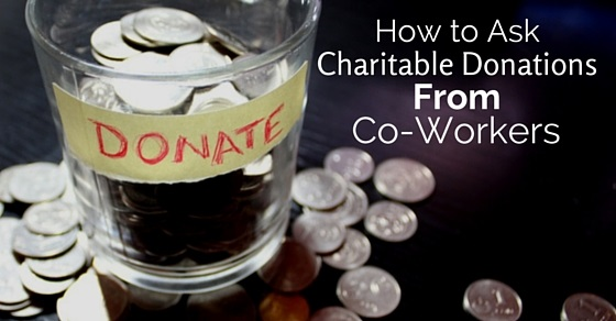 ask donations from coworkers