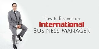 become international business manager