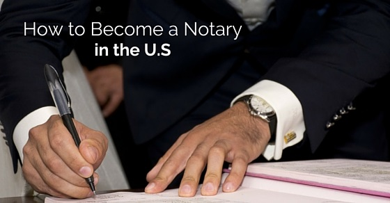 become notary in us