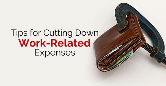 cutting work related expenses
