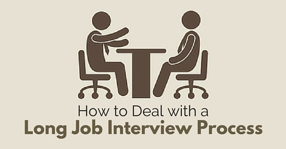 deal long job interview process