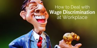 deal wage discrimination at workplace
