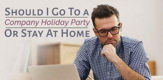 go to company holiday party