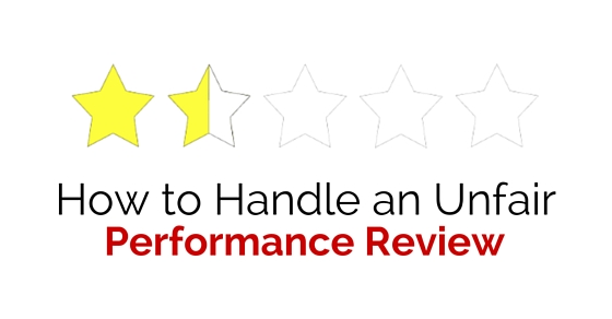 handle unfair performance review
