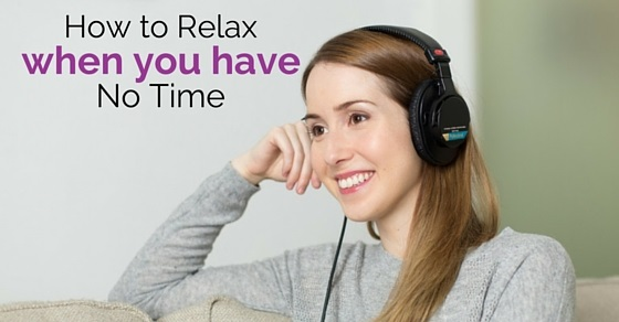 ways to relax
