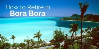 how retire in bora bora