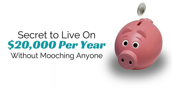 live on 20000 a year