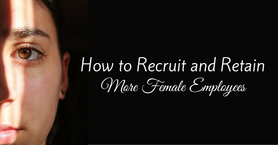 recruit more female employees