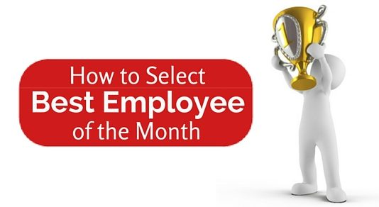 select best employee month