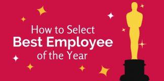 select best employee year