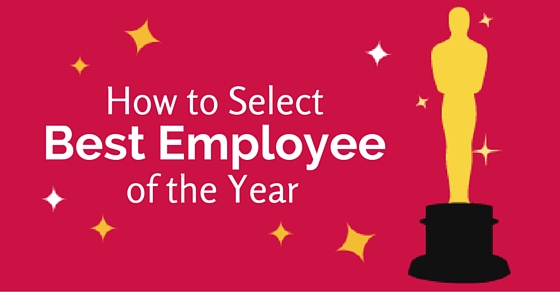 select best employee of the year