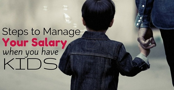 steps manage your salary