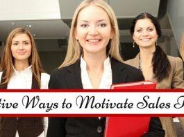 ways motivate sales teams