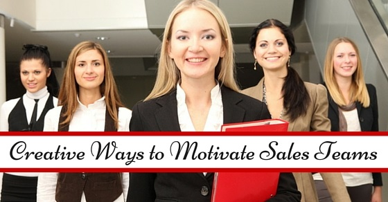 ways motivate sales teams