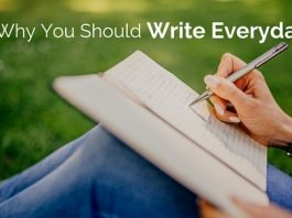 why you should write everyday