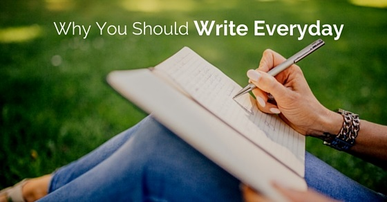 why you should write every day