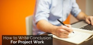 writing conclusion for project