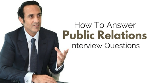 answer public relations questions
