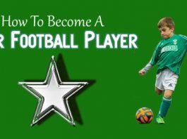 become star football player