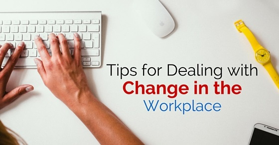 dealing with change workplace