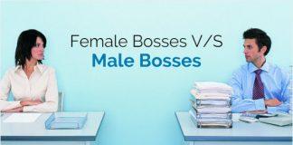female bosses male bosses