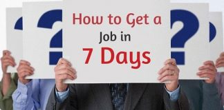 get job in 7 days