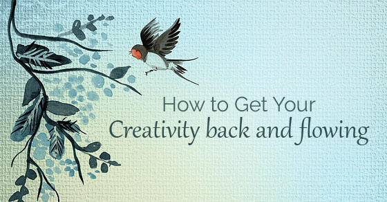 get your creativity back