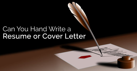 how to type a resume cover letter