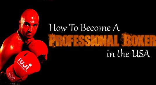 how become professional boxer