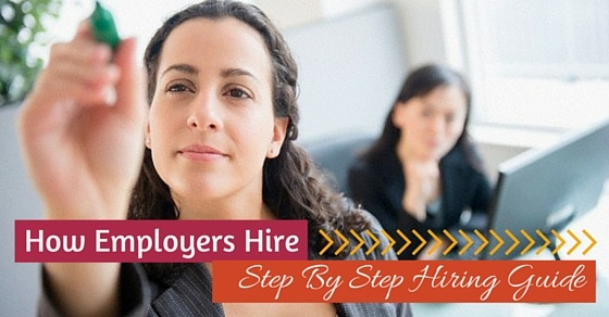 how employers hire guide
