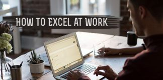 how excel at work
