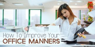 how improve office manners