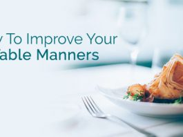 how improve table manners