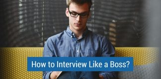 how interview like boss