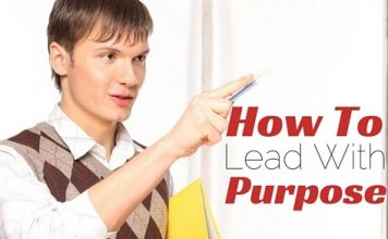 how lead with purpose