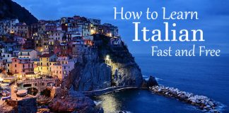 how learn italian free