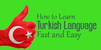 how learn turkish language