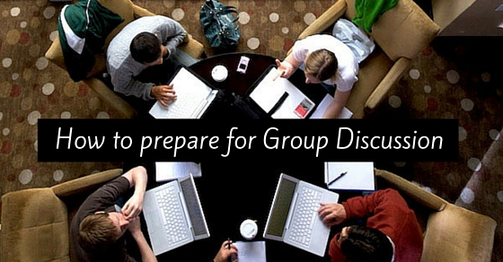 how prepare group discussion
