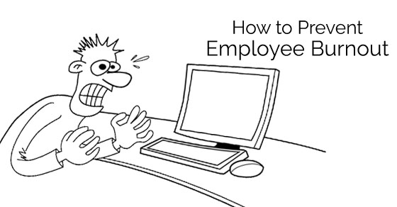 how prevent employee burnout